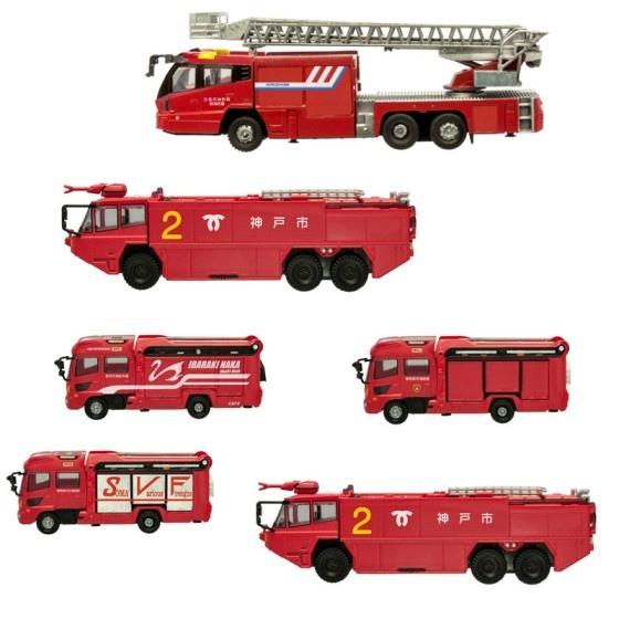 F-Toys 消防車04