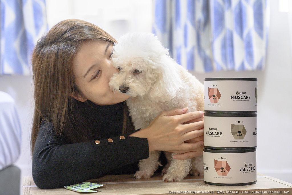 【momo姐生活日常】給毛孩的專業保健食品-好事啃HusCare/好關節/好皮膚/好毛髮