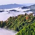 02 備中松山城展望台-雲霧繚繞。天空之城.jpg