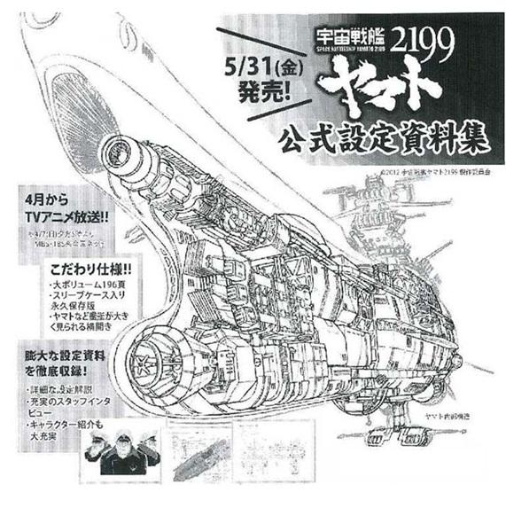 2013.04.15宇宙戰艦大河2199 官方設定集 書籍