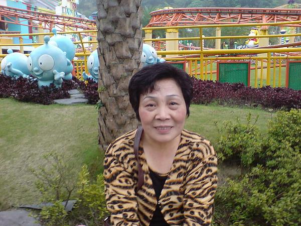 劍湖山之旅-老媽