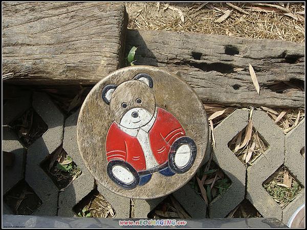 可愛的板凳  小熊