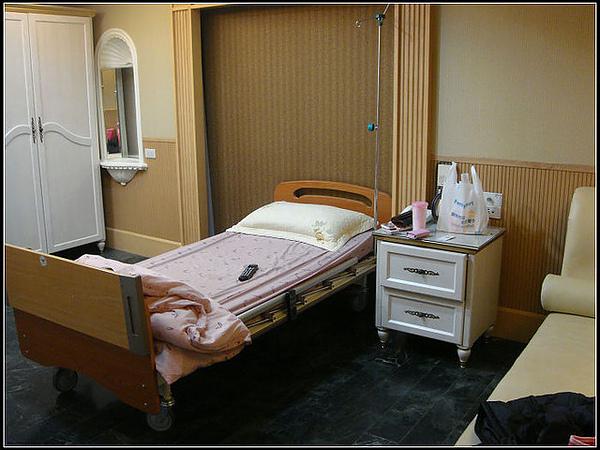 我住的是單人病房~~一天才1500