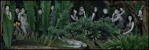 04「叢林Jungle」系列,〈叢林〉Jungle,2007-1024x348.jpg