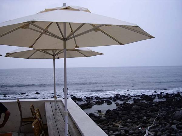 從餐廳望出的沙珠灣
