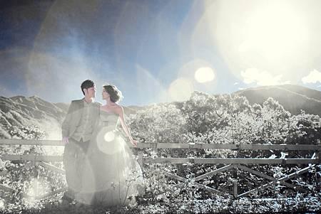台灣旅遊式婚紗攝影~台灣歐洲清境