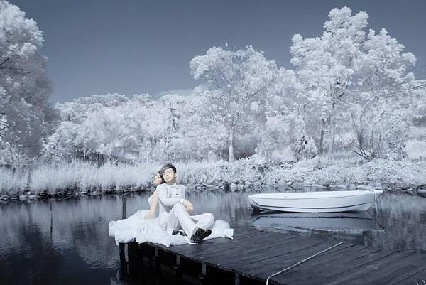 高雄婚紗【雪地】【雪景】【下雪】【雪中】婚紗禮服攝影