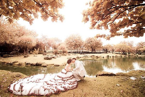 高雄婚紗 自助婚紗攝影 婚紗創意攝影((紅外線攝影))