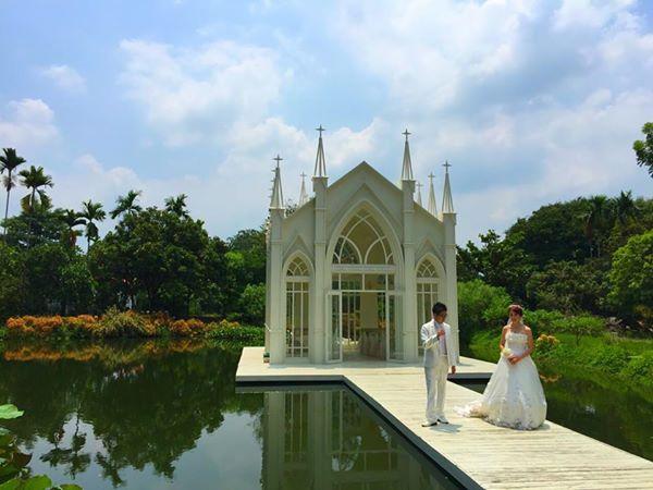 高雄自助婚紗哥德式水上教堂