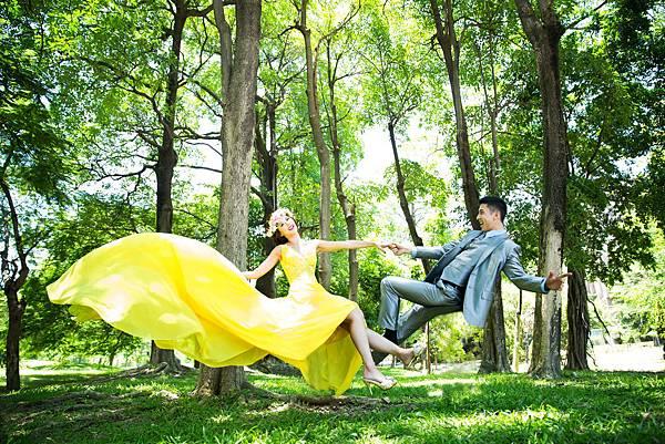 高雄婚紗 漂浮婚紗攝影