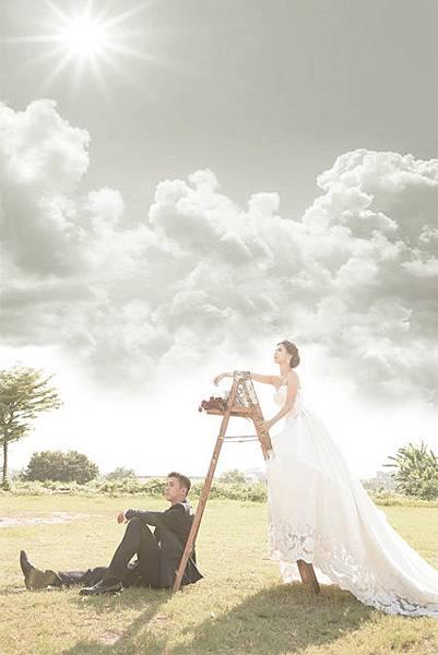 自助婚紗新人【推薦】 Tony & Serina 主題式自助婚紗【攝影】 情意綿綿