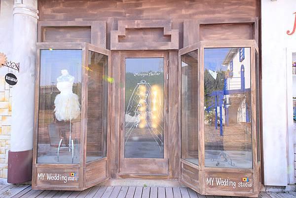 圖為:高雄自助婚紗推薦景點-韓風街景
