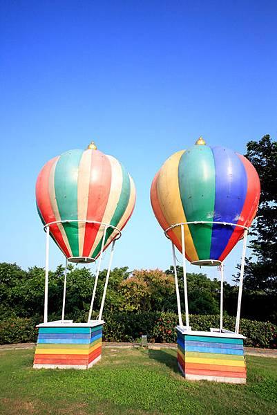 圖為:高雄自助婚紗推薦景點-熱氣球