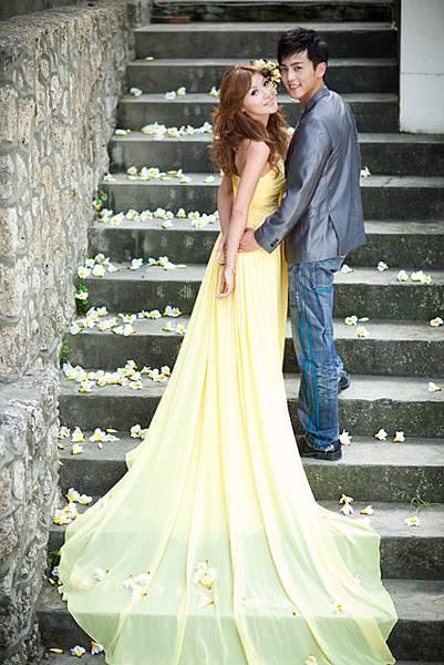 在地高雄自助婚紗攝影風格推薦:秋意詩歌