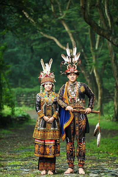 屏東自助婚紗-屏東獨特的原住民婚紗照