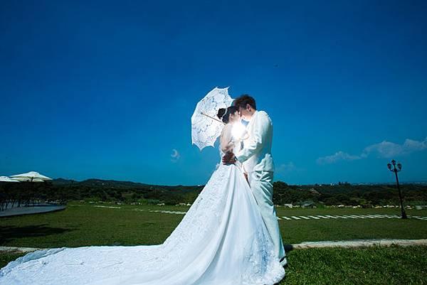 高雄小希臘莊園婚紗新人推薦