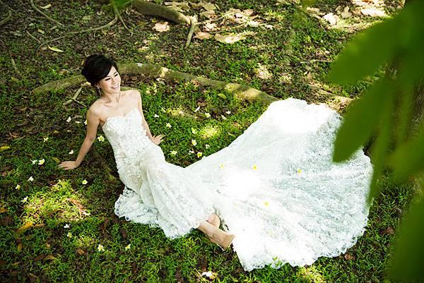 高雄自助婚紗新人:夏季甜蜜浪漫時光