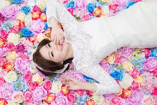 超自然韓風婚紗清新風格