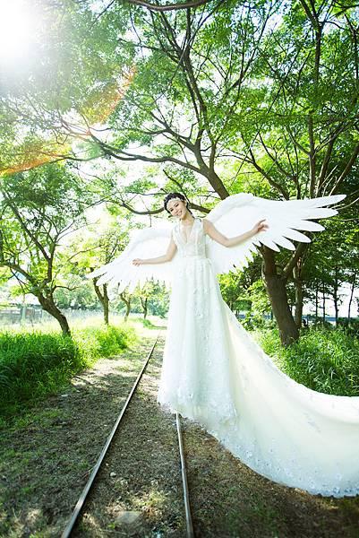 高雄屏東婚紗:精靈、人魚、天使傳說創意婚紗攝影
