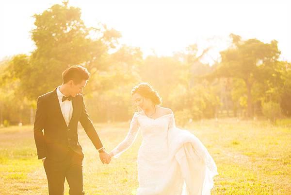 流行歐美自然婚紗照分享