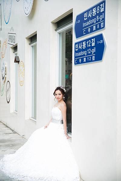 高雄韓風婚紗:韓國街景婚紗