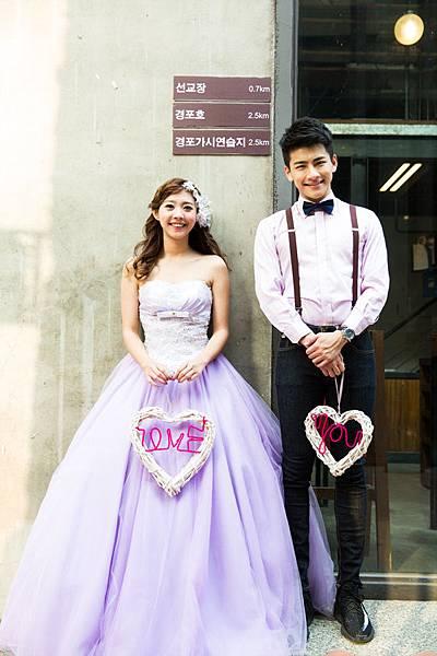 高雄自助婚紗:韓風之戀