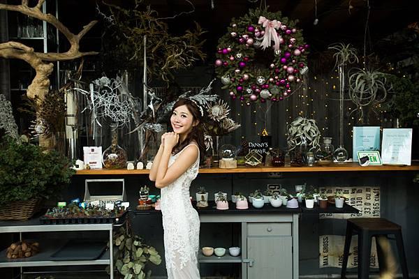 高雄自助婚紗:花草嚮宴
