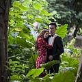 高雄原生植物園個性雜誌婚紗風格