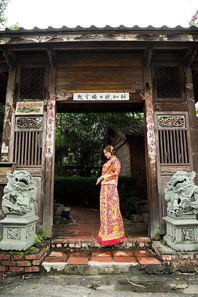 高雄中式婚紗龍鳳掛