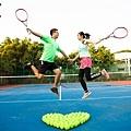 高雄運動網球婚紗