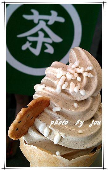 花見宇治抹茶:台南中西區 花現冰淇淋!<花見宇治抹茶>