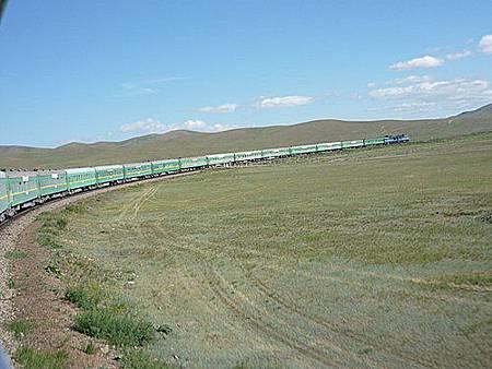 外蒙古火車34