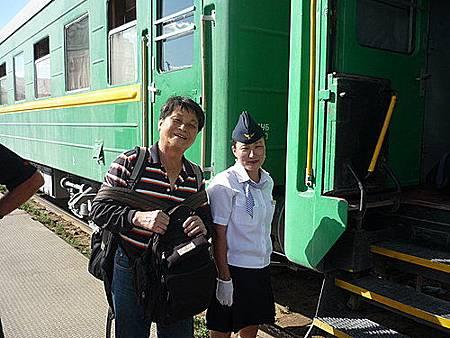 外蒙古火車24