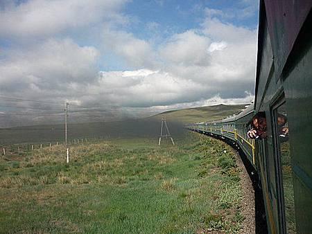 外蒙古火車47