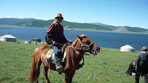 111外蒙古騎馬