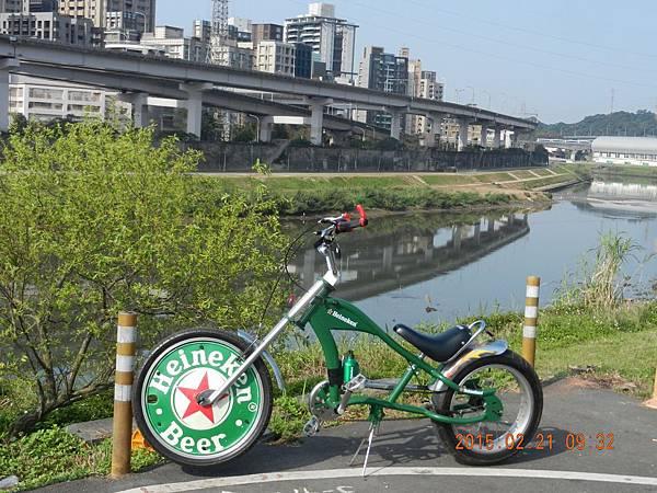 南湖大橋腳踏車