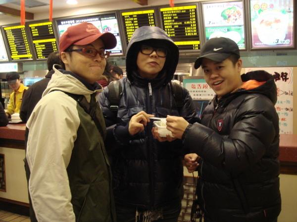 蘇州跟阿win在中式速食店