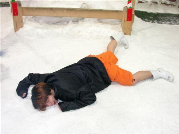 """雪地裡的""""猩猩"""""""