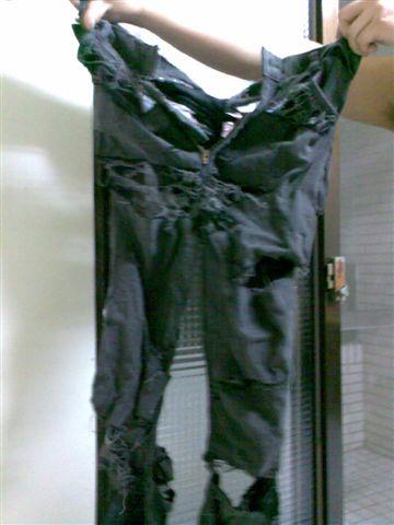 無緣的褲子