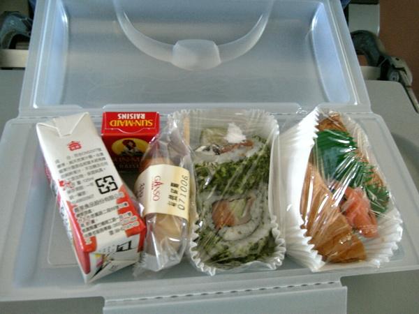 飛機餐(開盒)
