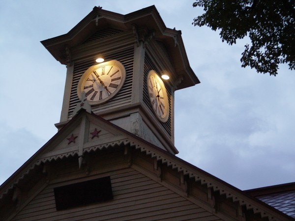 計時台一景
