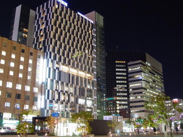 晚間的札幌車站