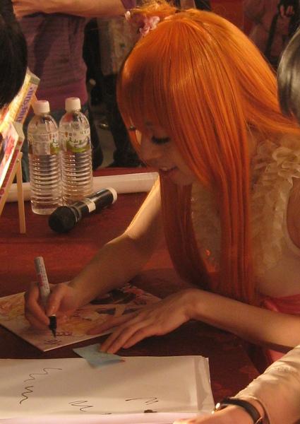20110211漢玲老師簽名會
