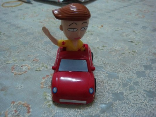 香港麥當勞的玩具~要加港幣八元才有唷