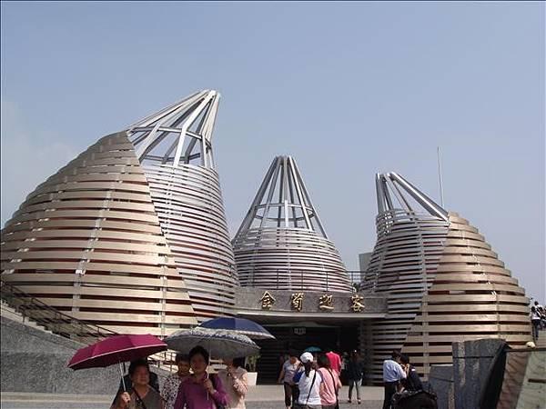 竹筍外觀的五星廁所