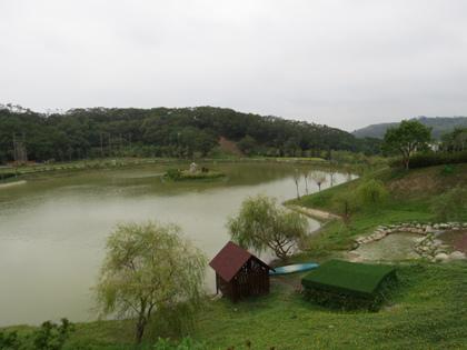玄奘大學澄心湖1