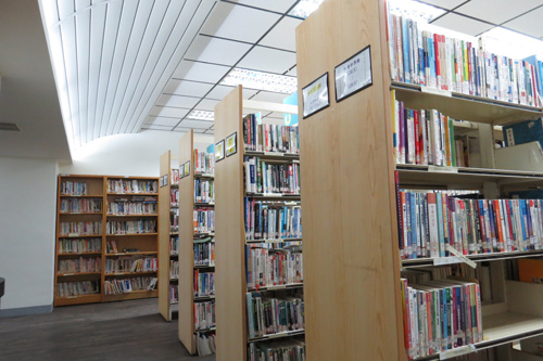 圖書館空間寬敞