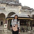 清真寺的內部..