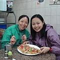 晚餐..道地的pizza..5里拉..可..好像台灣比較讚