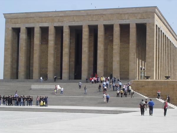 土耳其國父的陵寢.